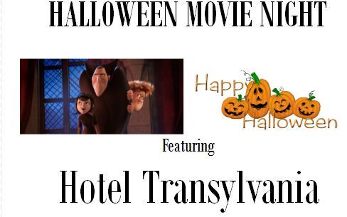 Halloween Movie Night 2018