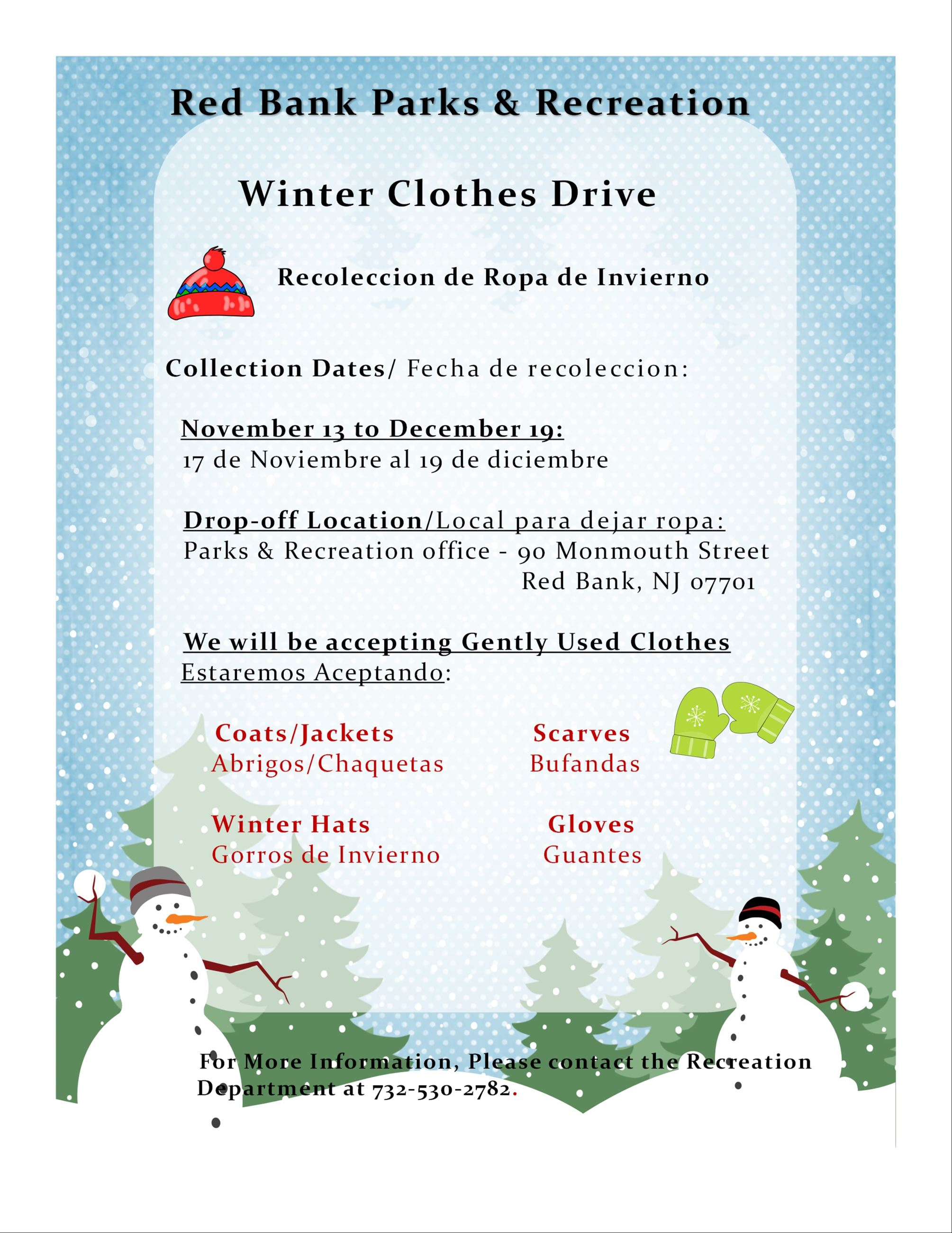 2nd Annual Clothes Drive