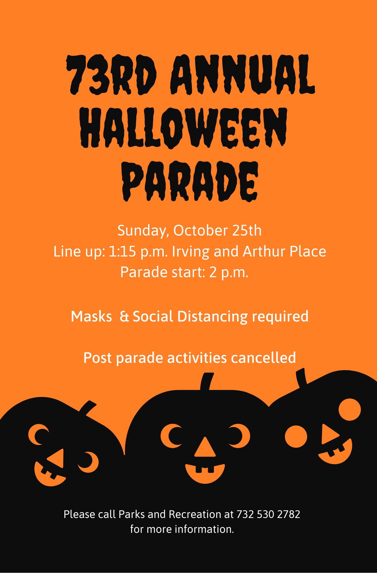100820 Final 2020 Halloween Parade Flyer