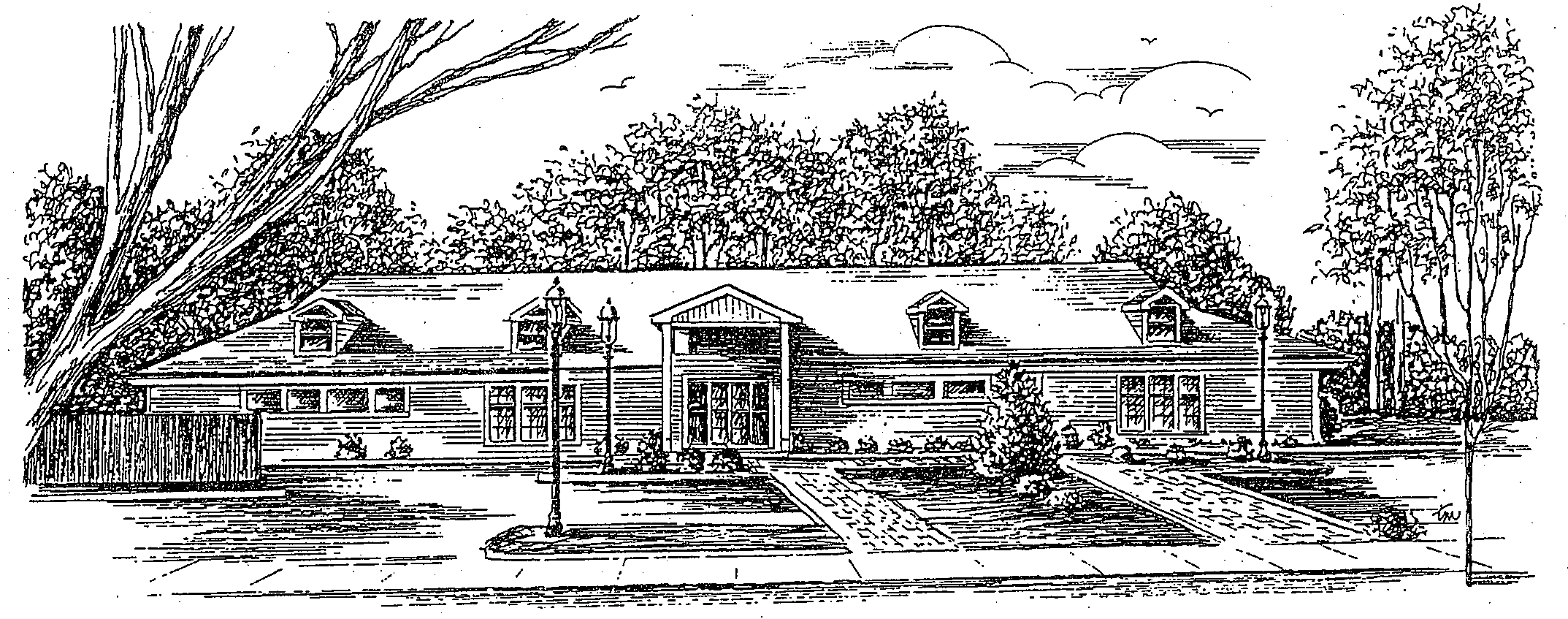 Senior Center Drawing